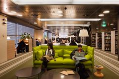 Hassell-designed Giblin Eunson library at the University of Melbourne