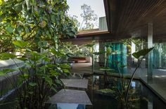 Sheats/Goldstein house by John Lautner. | Jeff Green | Archinect