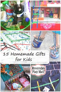 15 fun homemade gifts for kids -- perfect for Christmas