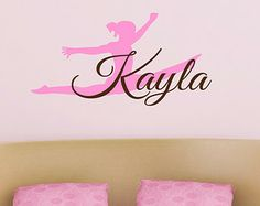 Popular items for gymnastics decal on Etsy