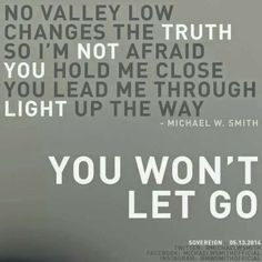 ♫ Monday's Mourning Ministry - You Won't Let Go ~Michael W. Smith http://mothergrievinglossofchild.blogspot.com/2014/06/mondays-mourning-ministry-you-wont-let.html