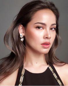 Beauty Make-up, Beauty Shots, Beauty Women, Asian Beauty, Hair Beauty, Filipino Makeup, Asian Eye Makeup, Minimal Makeup, Model Face