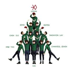 #Kris#Tao#Kai#Chanyeol#Sehun#Chen#D.O#Baekhyun#Lay#Suho#Xiumin#Luhan#Christmas