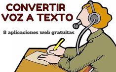 Convertir voz en texto, las 8 mejores aplicaciones web | Educacion, ecologia y TIC | Scoop.it