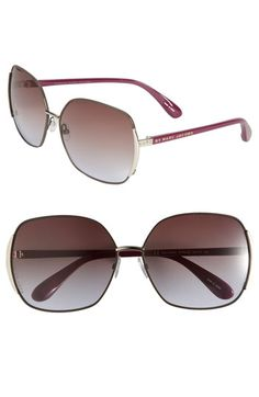 $98MARC BY MARC JACOBS 61mm Vintage Inspired Oversized Sunglasses available at #Nordstrom