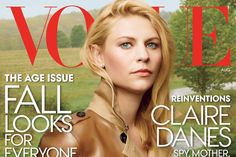 "For their August cover story, Vogue has gone rogue. Instead of dressing cover star Claire Danes in a ladylike gown, Vogue created an espionage-themed shoot worthy of her Showtime drama, ""Homeland."""