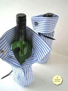 envoltorio para botella de vino