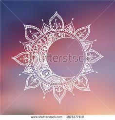 Doodle Tattoo, Mandala Tattoo, Mandala Art, Sun And Moon Mandala, Sun Moon, Bff Tattoos, Small Tattoos, Nouveau Tattoo, Moon Sun Tattoo
