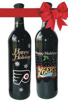 Nothing gets the message across like an engraved wine bottle - combine your logo and holiday message to create an unforgettable gift.