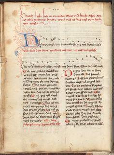 Beheim, Michael: Gedichte Österreich, 3. Viertel 15. Jh. Cgm 291  Folio 60