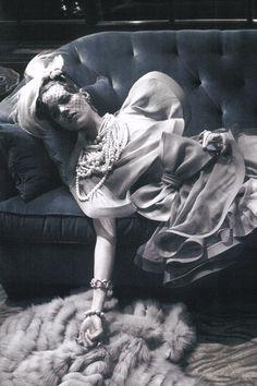 Freja Beha Erichsen by Steven Meisel | Vogue Italia