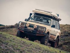 We're selling our beloved Toyota Land cruiser, as we are finishing our trip around Africa. It is 4.5 L petrol engine, GX, 1996 model. It has something around 312.000km on the clock. It's a fully equipped Cruiser for overland trips. Vehicle is South African registered. It has Old man EMU custom suspension and Bridgestone dueller A/T tyres.The following are included in the sale:Hannibal Impi roof-tent - very fast to build it up and down - very important when you setoff for early morning…