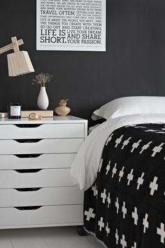 STYLIZIMO BLOG: One bedroom - 4 different nightstands