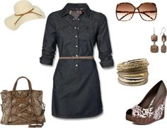 """Brown"" by rachaelpifer ❤ liked on Polyvore"