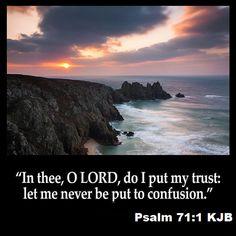 Psalm 71:1 KJB
