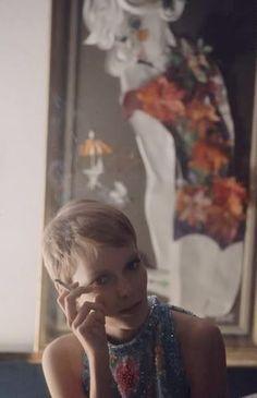 Mia Farrow...