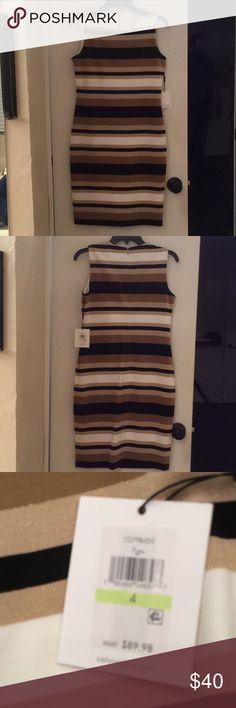 Calvin Klein striped dress NWT Calvin Klein Dresses Midi