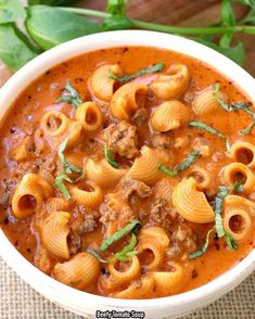 Beefy Tomato Soup Recipe -   Ingredients     ¾ lb. ground beef   2 tablespoons olive oil   1 onion, chopped   3 cloves of garlic, minced   2 teaspoons salt   ¼ teaspoon ground black pepper   1 teaspoon oregano   1 (23.5) oz jar of Francesco Rinaldi …