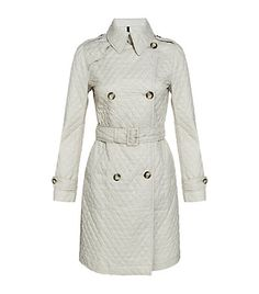 Moncler Quilted Trench Coat <3