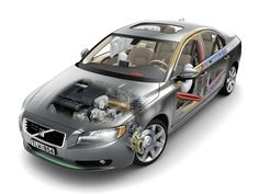 2006-2009 Volvo S80 3.2 - CAD generated image