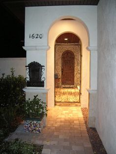 1000 Images About Courtyard Doors On Pinterest