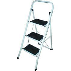 FOLDABLE-2-3-4-STEP-LADDER-NON-SLIP-  sc 1 st  Pinterest & 2 Tread Safety Non Slip Folding Step Ladder Stepladder Kitchen ... islam-shia.org