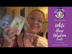 White Hare Wisdom Oracle: First Impressions & Walkthrough Created by Phil and Jacqui Lovesey Check out my website for Tarot Readings and Etsy shop for Indie . Tarot Reading, Hare, Free Ebooks, Daughter, Wisdom, Social Media, Etsy Shop, Watch, Videos