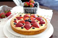 Ma Niche : Sable Breton Galette with berries