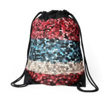 Red, White and Blue...Drawstring Bag by artist Marian Palucci by MarianPalucci on Etsy