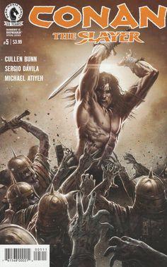 Conan the Slayer # 5 Dark Horse Comics