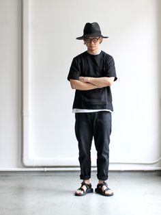 Kato' Tapered Cropped Pants