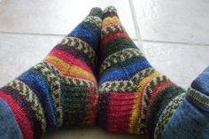 Ravelry: Sock Recipe: A Good, Plain Sock pattern by Stephanie Pearl-McPhee