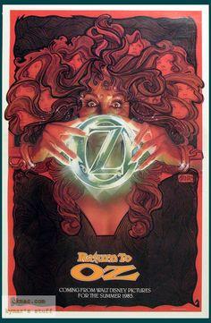 Return To Oz - Movie Poster by Drew Struzan