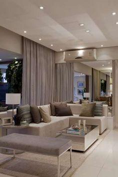 Apartamento tem salas de jantar e estar em varanda de 32 m² - Terra Brasil