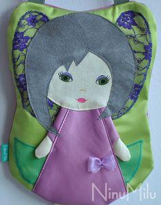 NinuMilu - torebki lalki - handbag dolls for girls: Do czego Ninu potrzebowała koronki…