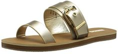 Aldo Womens Eleanna Dress Sandal Gold 41 EU10 B US ** Find out more about the great product at the image link.(This is an Amazon affiliate link and I receive a commission for the sales)