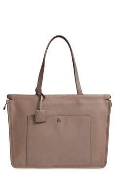bdc4645a34e0ce Louise et Cie Jael Leather Tote Tan Handbags, Smart Design, Side Panels,  Everyday