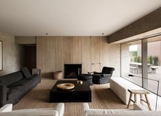 Flemish Rural Architecture - House by Vincent Van Duysen 6 Living Area, Living Spaces, Living Room, Contemporary Architecture, Interior Architecture, Vincent Van Duysen, Design Salon, Interior Decorating, Interior Design