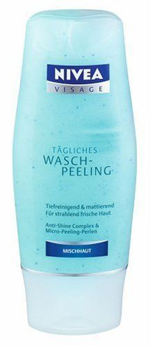 Nivea Visage Tagliches Wash Peeling Mask 150ml mask by Nivea by NIVEA. $24.50. 150 ml mask. Please read all label information on delivery.. Country of origin: Germany. This gentle peeling mask contains micropeeling pearls to help cleanse combination skin.