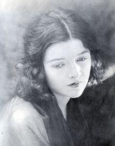 Myrna Loy aged fifteen
