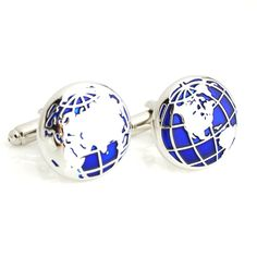 Men World Map Cufflink     FREE Shipping Worldwide     http://fashjewels.de/high-quality-french-style-fashion-novelty-for-men-blue-world-map-designer-cuff-links-jewelry-accessories-gift-for-men-wholesale/