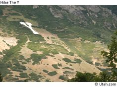 Y Trail on Y mountain, East Provo, UT, 2.4 miles out and back- harder for kids as it is steep