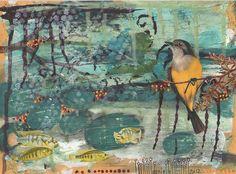 Danielle Maret - Mail art Postcard-190, via Flickr.