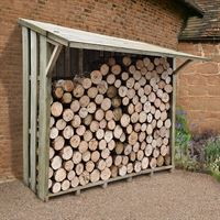 7' x 3' Xtra Large Easy Access Sherwood Log Store (2.12 x 1.17m)