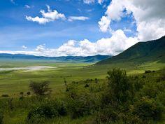 Ngorongoro Crater, Ngorongoro, Tanzania.
