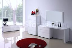 23 White Contemporary Bedroom Furniture To Make An Amazing Looks , White  Contemporary Bedroom Furniture