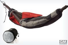 Hammock Sleeping Bag (ハンモック寝袋)は反目し合わないハンモック