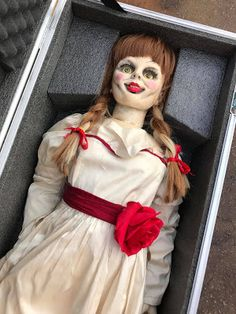 Halloween Meme, Scary Halloween Costumes, Christmas Costumes, Halloween Christmas, Halloween Kids, Halloween Party, Annabelle Makeup, Annabelle Doll, Horror Movie Characters