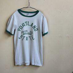 【楽天市場】【アメリカ古着】【中古】 70s チャンピオン製カレッジリンガーTシャツ:Matin(マタン楽天市場店)