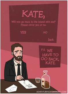 LOST Valentines Cards